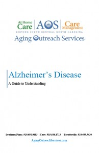 AOS Alzheimers Guide Cover