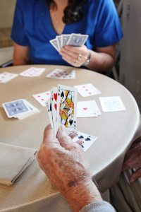 careiver playing cards